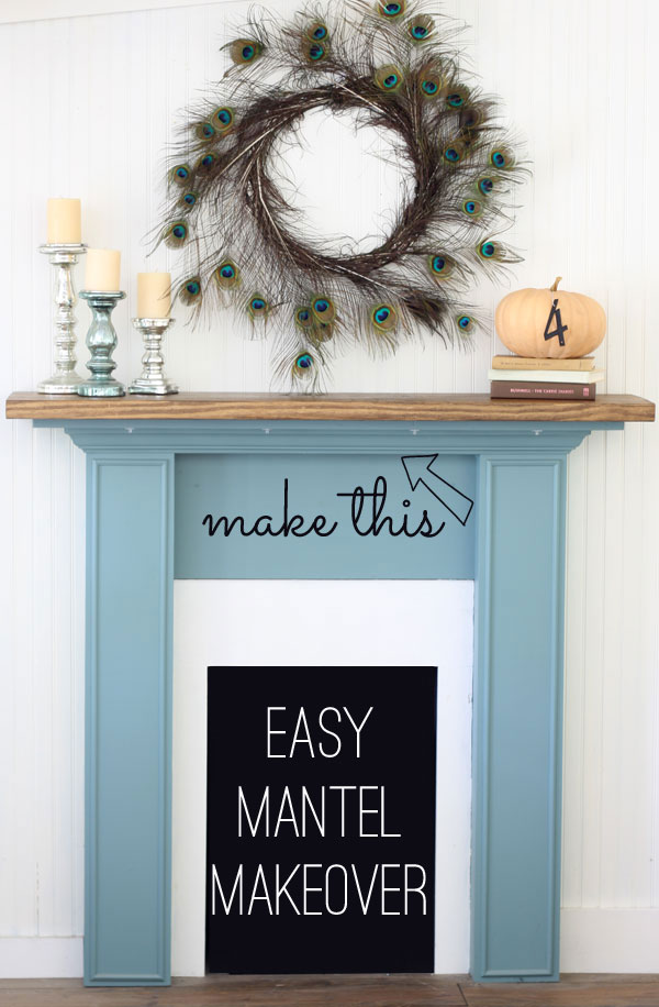 Easy-Mantel-Makeover