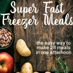 Fast Freezer Meals Ad