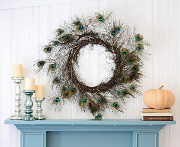 Peacock-Wreath