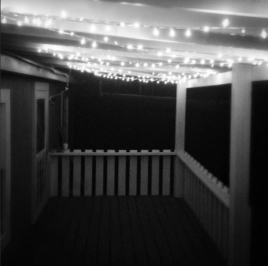 Porch at Night