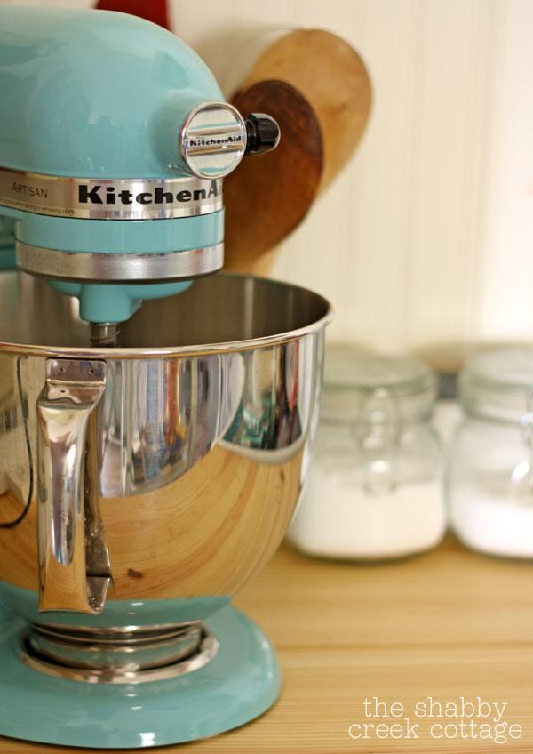 aqua kitchen aid mixer