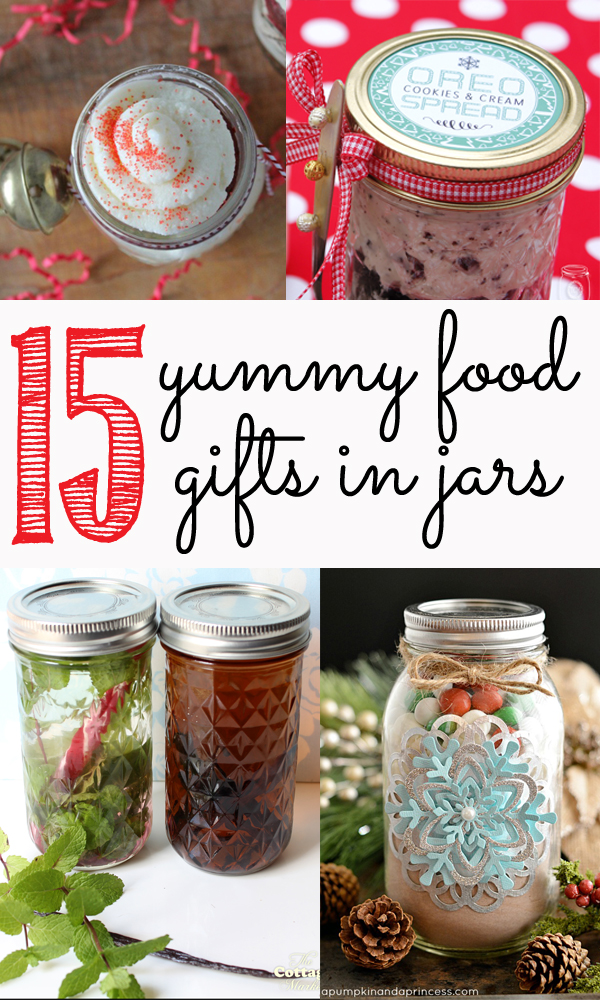 15 yummy food gifts in jars