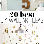Best DIY wall art ideas