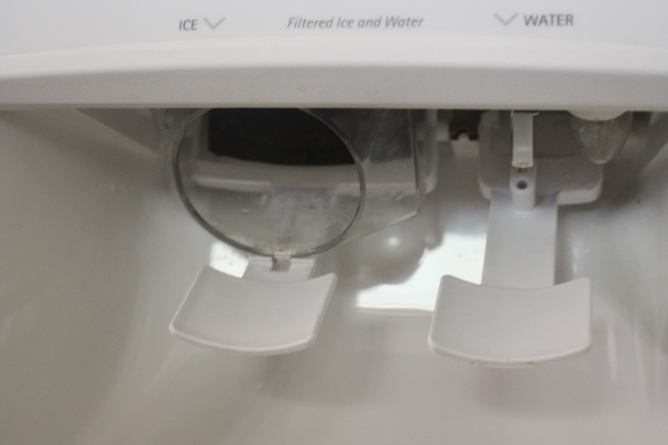 how to clean ice and water dispenser