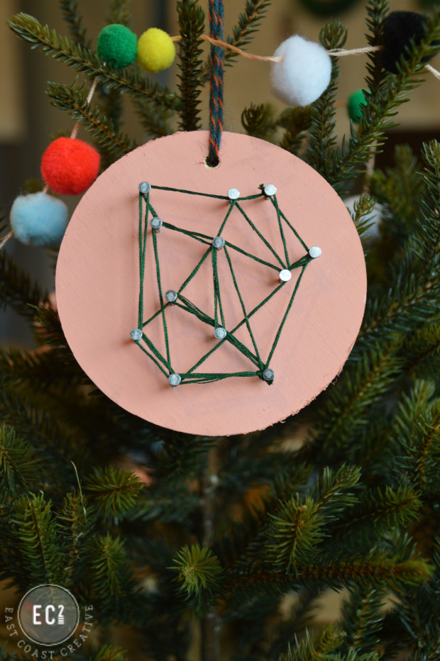 Fun and Creative Holiday Ideas: DIY Geode String Ornament