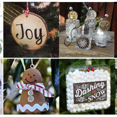 200+ Handmade Christmas Ornaments