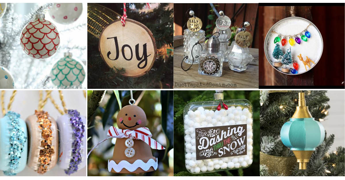 Christmas Ornaments - 200+ of the best handmade ornaments
