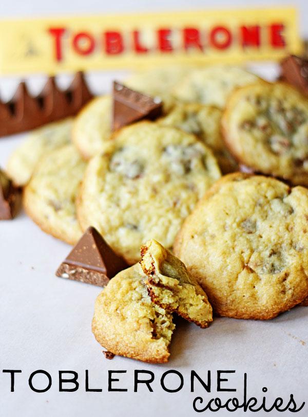 Toblerone-Cookies