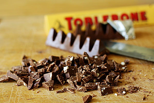 Toblerone Cookies Recipe