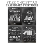 Free Christmas Printable Art