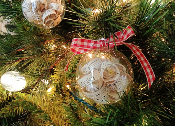 Easy Sheet Music Ornaments