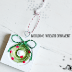 moulding wreath ornament