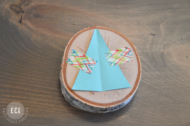 Fun and Creative holiday ornaments: Rustic Geometric String Ornament
