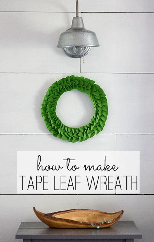 tape-leaf-wreath