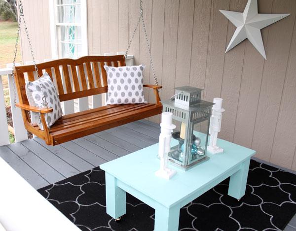 porch decorating