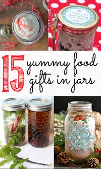 Food Gifts in Jars