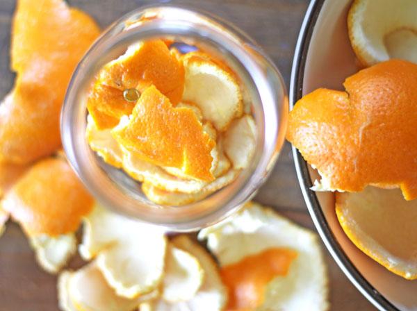 DIY orange cleaner recipe