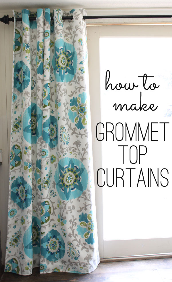 Grommet Top Curtains Tutorial A Step By Free Guide