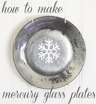 DIY mercury glass
