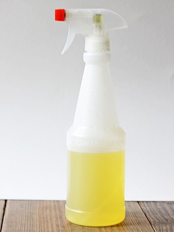 DIY orange cleaner