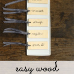 easy wood beverage tags