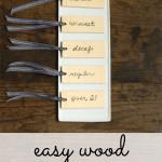 easy wood beverage tags