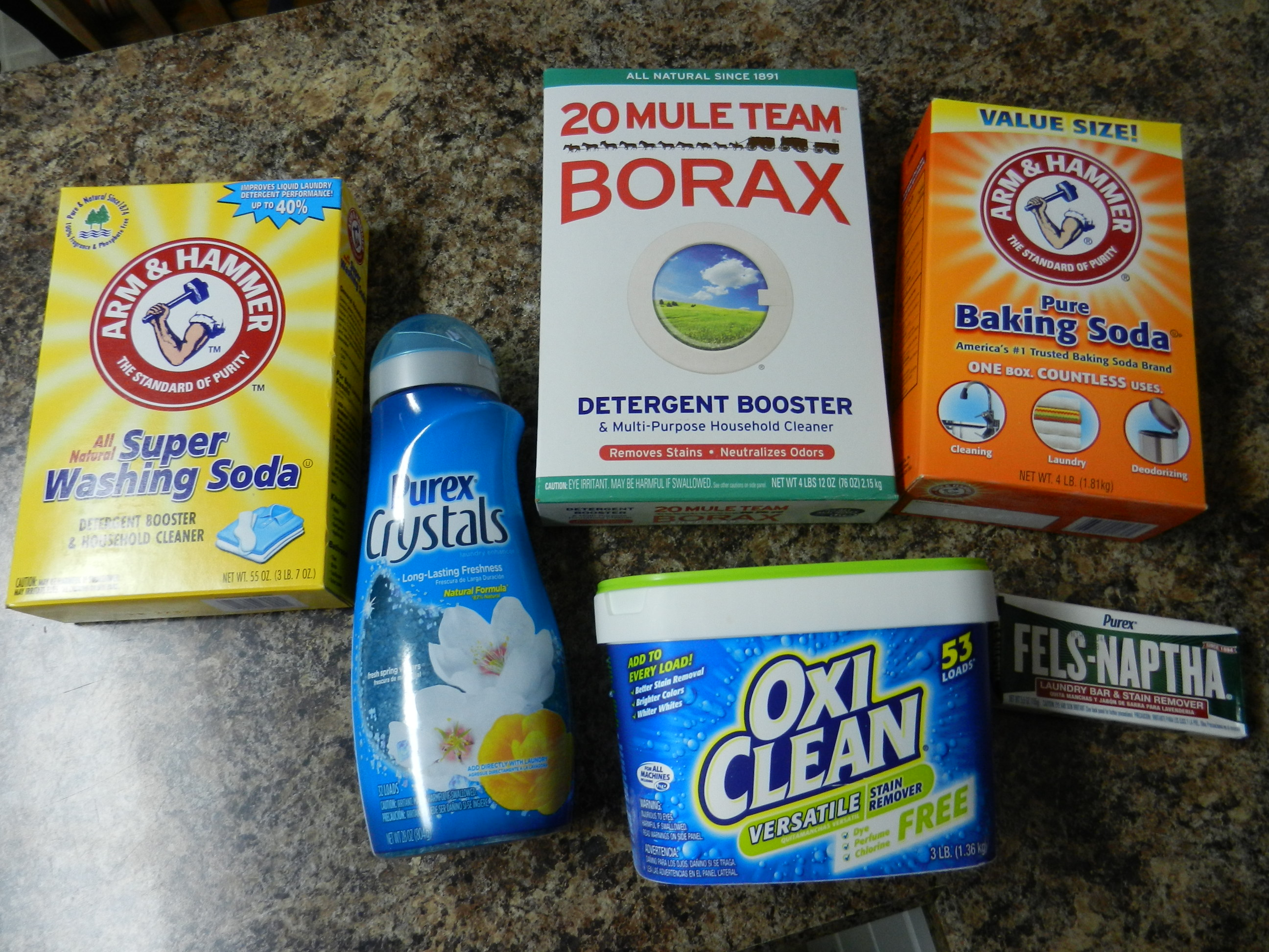 make homemade laundry soap