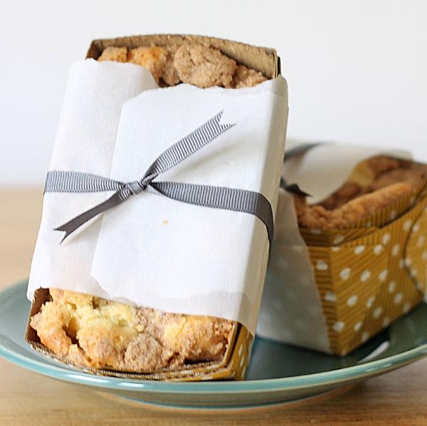 Cinnamon Crumb Pound Cake