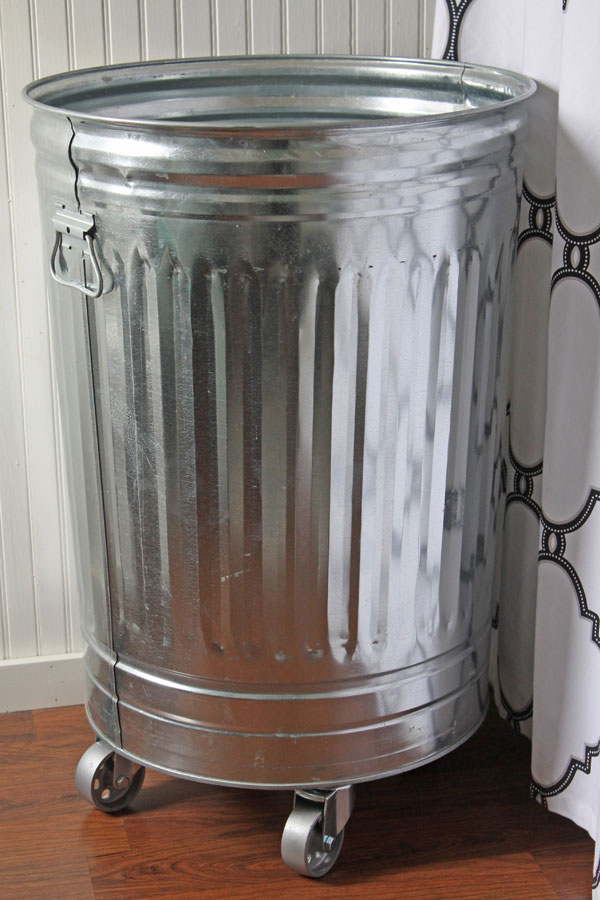 Diy Industrial Style Laundry Hamper