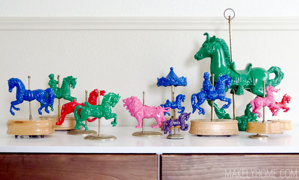 carousel horse collection