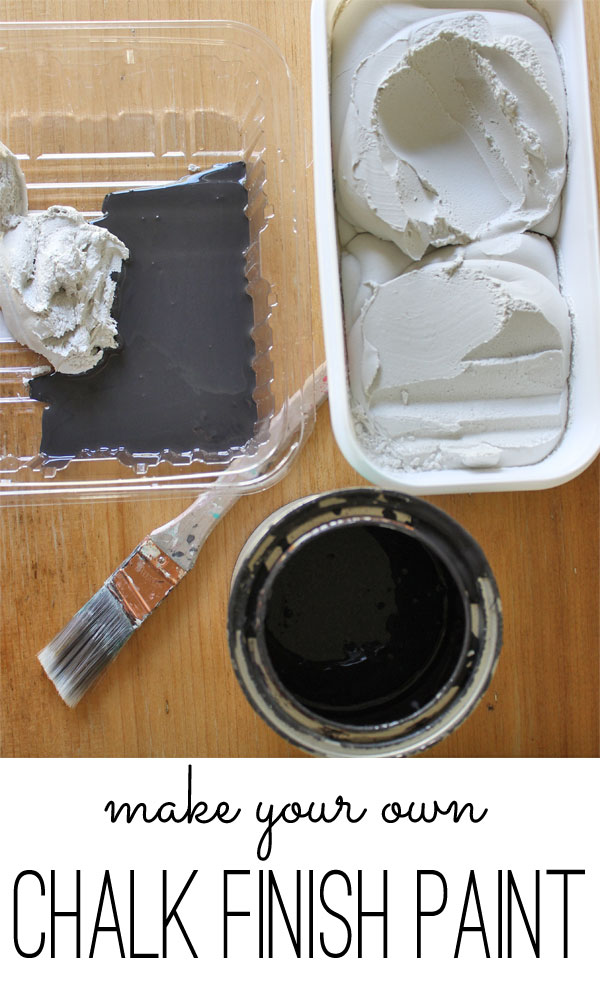 Chalk Finish Paint Recipe Really Easy Diy Project