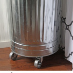 DIY industrial style laundry hamper tutorial