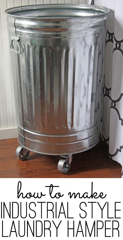 Diy Style Laundry Hamper Tutorial