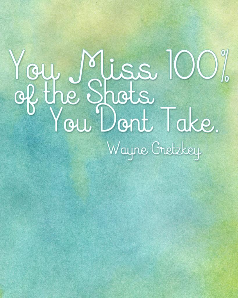 Wayne Gretzkey quote