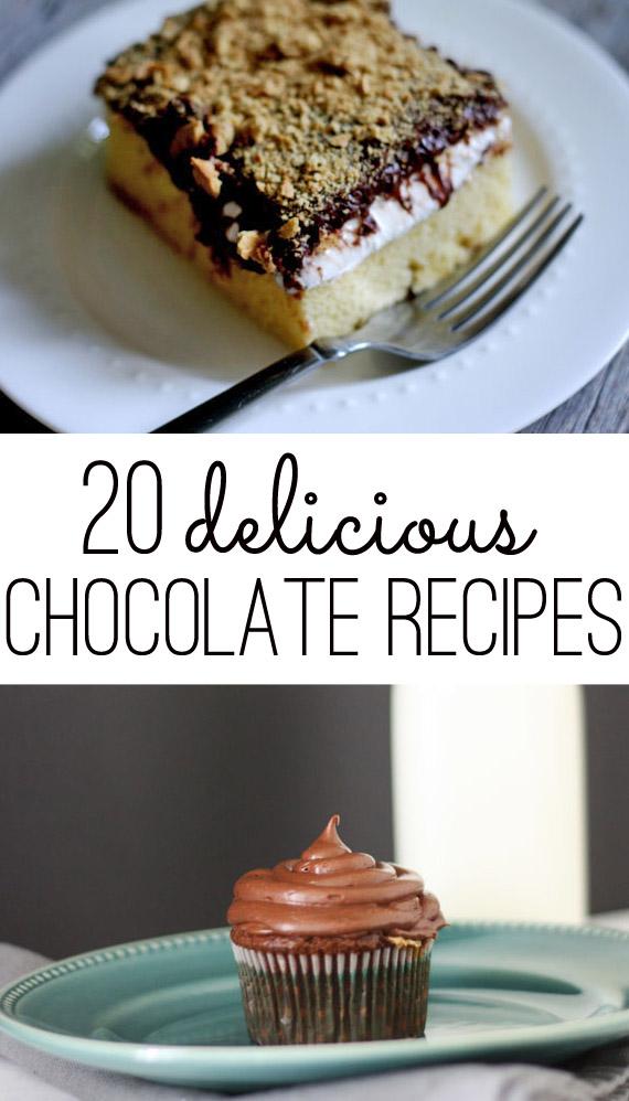 Twenty Delicious Chocolate Recipes