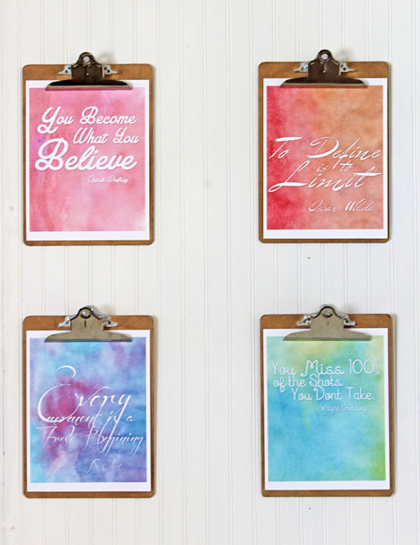 free motivational quotes printable art