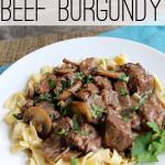 crock pot beef burgundy