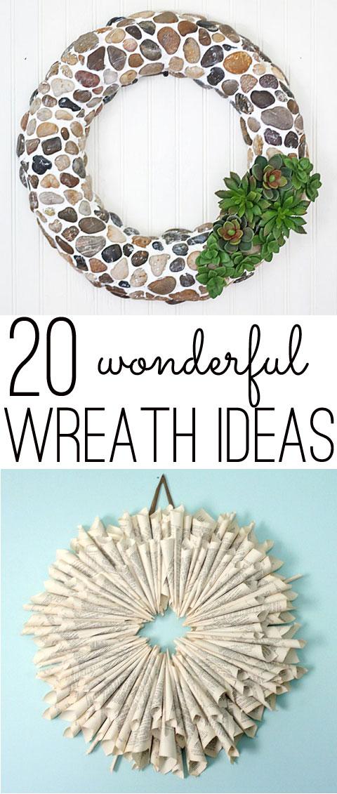 20 wonderful wreath ideas