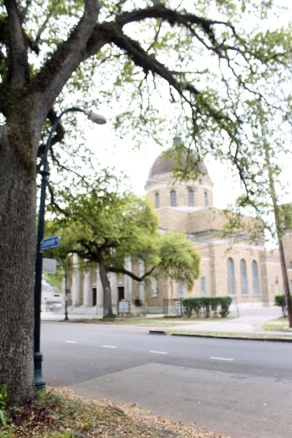 church in the French Quarter