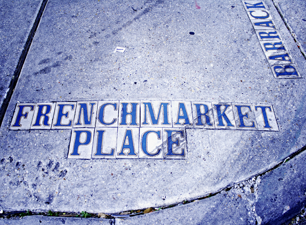 french market street marker