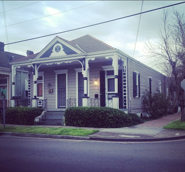 house in French Quarter