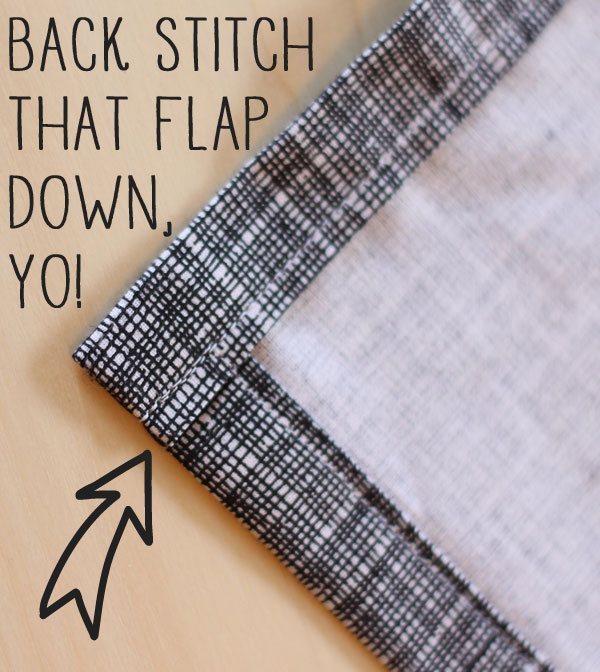 easy way to make your own kitchen towels