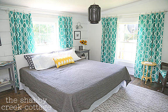 shabby creek master bedroom