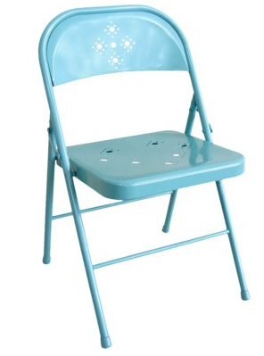 aqua folding chairs