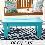 easy diy coffee table