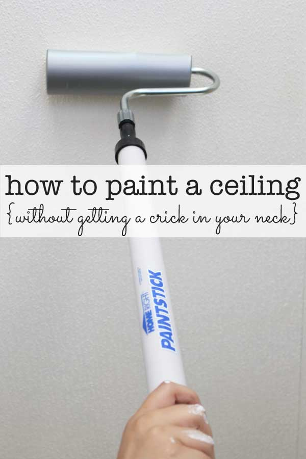 PaintStick How to Paint a Ceiling