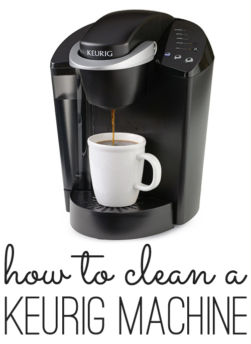 keurig coffee machine cleaner