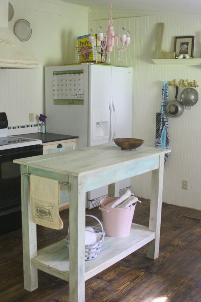 shabby creek kitchen before