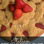 Italian Strawberry Tart