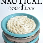 diy nautical coasters